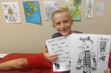 8歳の『フォートナイト』ファンが考案したスキンの実装近づく―ゲーム内に様々なヒントが発見