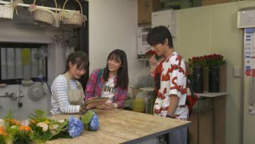 尾崎由香さんが出演する連続ドラマ「今夜、勝手に抱きしめてもいいですか?」の第10話の場面写真(C)2018「今夜、勝手に抱きしめてもいいですか?」製作委員会