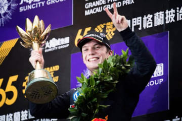FIA F2:マカオGP連覇のティクトゥムがF2デビューへ。福住のチームメイトとしてアブダビ参戦