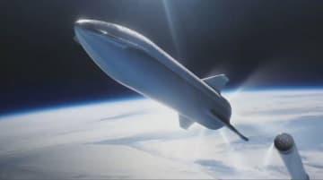 スペースX、次期巨大ロケットを「スターシップ」に改名 デザイン変更も