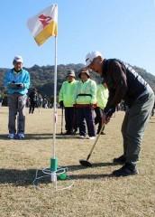 倉敷で山陽新聞社杯県Gゴルフ