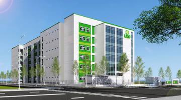 ロンハウ工業団地は、来年8月にビル型レンタル工場をオープンする(同工業団地提供)