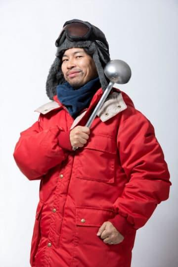 ドラマ「面白南極料理人」で料理人の西村隊員にふんする浜野謙太 - (C)ドラマ「面白南極料理人」製作委員会