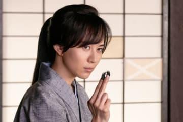 年末時代劇スペシャル「剣客商売 手裏剣お秀」に出演する比嘉愛未さん =フジテレビ提供