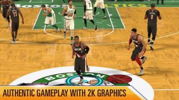 『NBA 2K モバイル』無料配信がスタート─いつでもどこでもスマホでバスケが楽しめる!