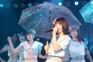 「その雫は、未来へと繋がる虹になる。」公演の初日に立ったAKB48チーム8埼玉県代表の高橋彩音さん