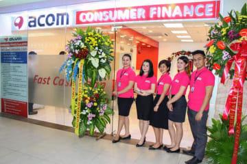 アコムは22日、フィリピンで2カ所目となる店舗を開設した(同社提供)