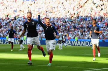 W杯で暴れたフランスの前線 photo/Getty Images