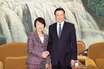 横浜市代表団が上海訪問 両市の友好都市提携45周年を記念