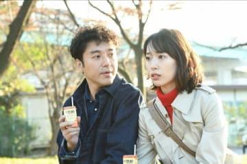 女優の戸田恵梨香さんが主演し、俳優のムロツヨシさんが出演するドラマ「大恋愛~僕を忘れる君と」の第7話の1シーン(C)TBS