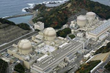 関西電力大飯原発。右から4号機、3号機、2号機、1号機=福井県おおい町
