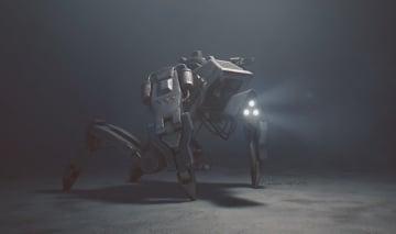 終末ロシアADV『35MM』開発者がサイバーパンク系新作『7Sector』発表―四足メカが登場するティーザーも