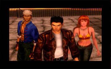 「シェンムーI&II」のゲーム画面(C)SEGA