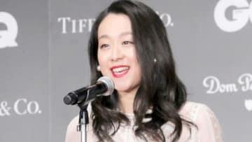 「GQ メン・オブ・ザ・イヤー2018」の授賞式に登場した浅田真央さん