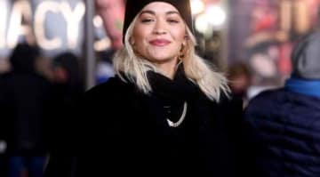 Rita Ora Preps For Macy's Thanksgiving Day Parade, Though High Winds Threaten Balloons