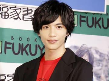 写真集「23」の発売記念イベントを開催した志尊淳さん