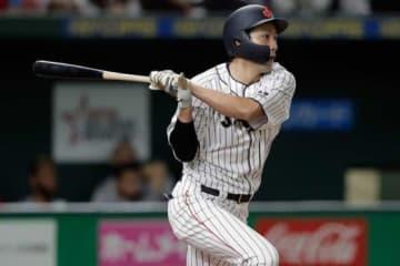 日米野球で活躍を見せた侍ジャパン・柳田悠岐【写真:Getty Images】