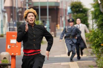 連続ドラマ「今日から俺は!!」第7話の一場面=日本テレビ提供