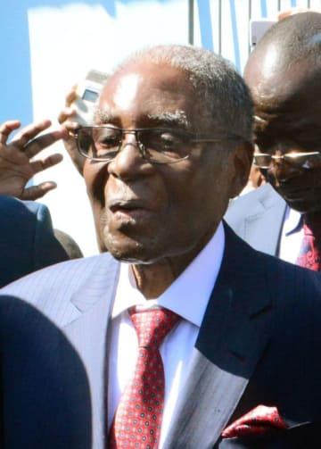 ジンバブエのムガベ前大統領