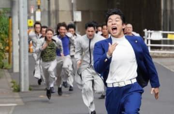連続ドラマ「今日から俺は!!」第7話の一場面=テレビ朝日提供