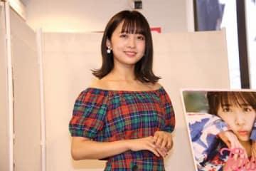 ファースト写真集「koume」の発売記念イベントを開催した「SUPER☆GiRLS」の渡邉幸愛さん