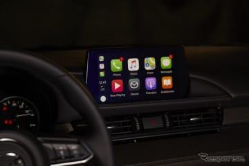 マツダ6(アテンザに相当)のApple「CarPlay」