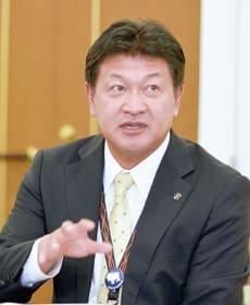 「災害時の行政事務手続きの統一化が必要」と述べる戸田町長
