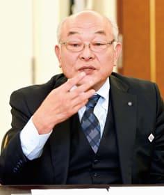 「広域的な支援を道を交えて取り組むことが大事」と述べる豊浦町の村井町長
