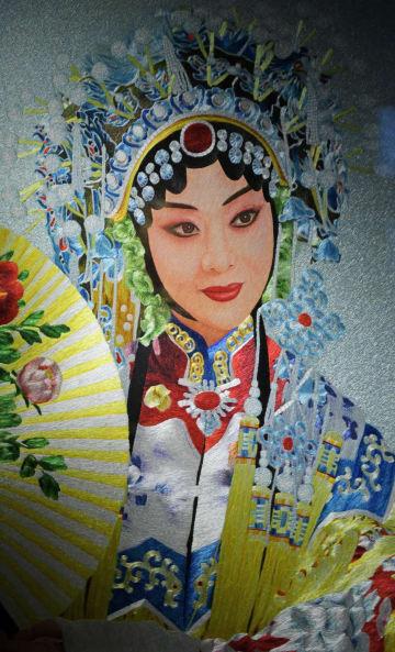 針の先の無形文化遺産「盛京満繍」 遼寧省瀋陽市