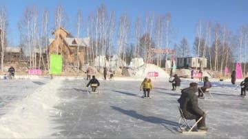北極氷雪遊園地がオープン 黒竜江省漠河市