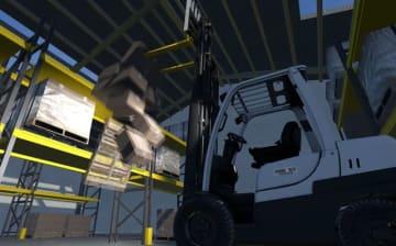 リアル系フォークリフトシム『Forklift Simulator 2019』早期アクセス開始!