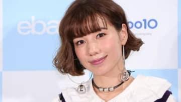 ショッピングサイト「Qoo10」のファンイベントに登場した仲里依紗さん
