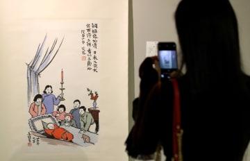芸術家·豊子愷の作品展、香港で開催