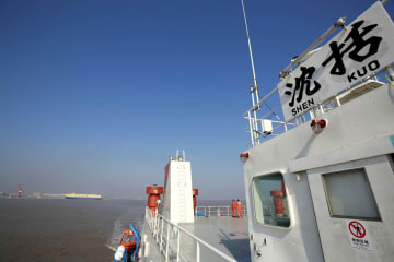 科学調査船「沈括」号、マリアナ海溝へ