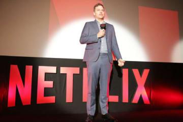 「Netflixアニメラインナップ発表会」に登場したNetflixコンテンツディレクターのジョン・ダーデリアンさん