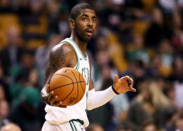 Kyrie Irving dunks in first preseason game as Celtic