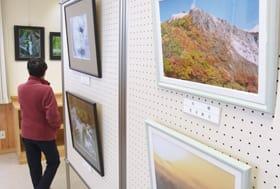 秋のさまざまな光景を捉えた作品展