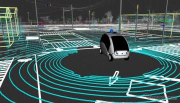 自動運転AIの競技会を開催(イメージ)