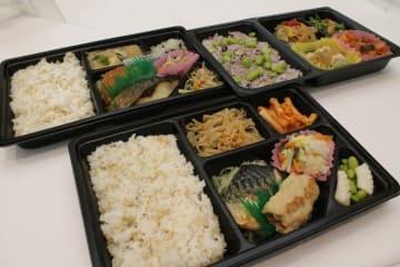 岩手県内の調査参加企業に配達されているスマート和食弁当