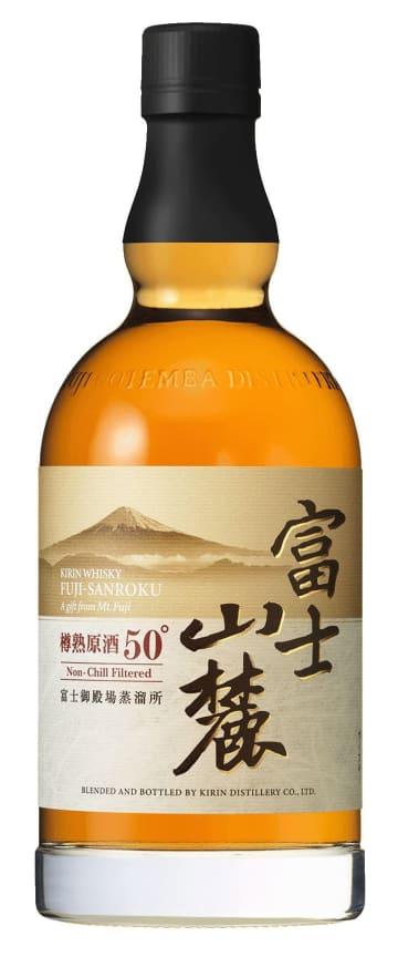 キリンビールのウイスキー「富士山麓 樽熟原酒50度」