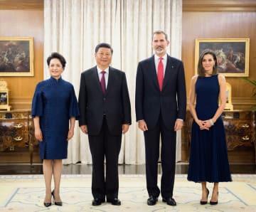 習近平主席、スペイン国王と会見 全面的戦略パートナーシップ推進を強調