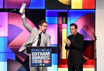 男優賞を受賞したイーサン・ホーク(左) - Dimitrios Kambouris / Getty Images for IFP