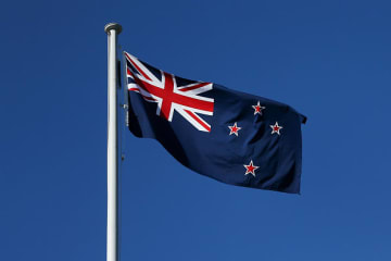 (Getty) New Zealand's flag