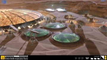火星の基地計画について学べる超本格シム『Project Eagle: A 3D Interactive Mars Base』Steamにて無料でリリース