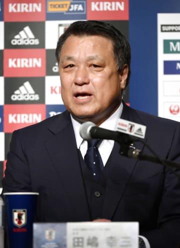 Japan Football Association President Kozo Tashima
