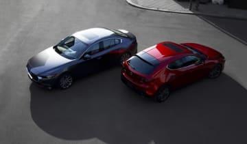 新型「Mazda3」(画像: マツダの発表資料より)