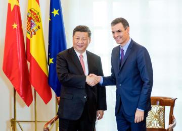 習近平主席、スペイン首相と会談 両国関係のさらなる発展推進で合意