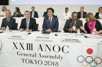 文在寅 韓国 北朝鮮 ANOC 総会 JOC 竹田 恒和 会長 IOC バッハ オリンピック 東京 五輪 2020