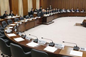 立憲民主党などの野党が欠席し、開かれた衆院憲法審査会=29日午前
