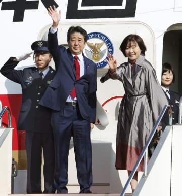 Abe departure